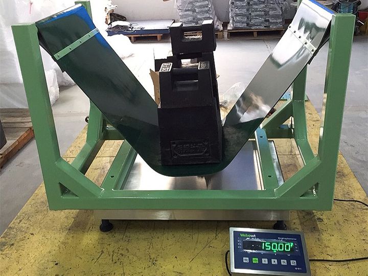 RLS/PLS Platform scale for tire weighing solution