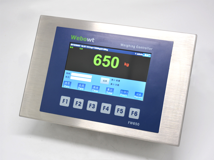 FW650  Industry 4.0 weighing Controller